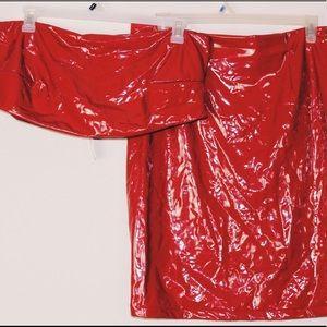 Red Latex 2-piece set